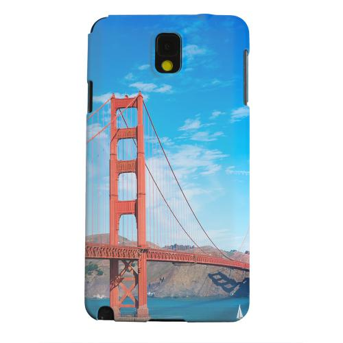 Geeks Designer Line (GDL) Samsung Galaxy Note 3 Matte Hard Back Cover - San Francisco