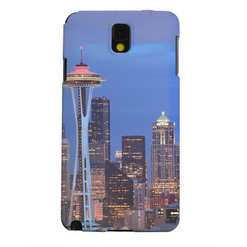 Geeks Designer Line (GDL) Samsung Galaxy Note 3 Matte Hard Back Cover - Seattle
