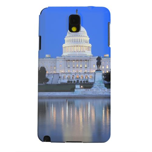 Geeks Designer Line (GDL) Samsung Galaxy Note 3 Matte Hard Back Cover - Washington D.C.
