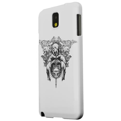 Geeks Designer Line (GDL) Samsung Galaxy Note 3 Matte Hard Back Cover - Inkfection on Gray