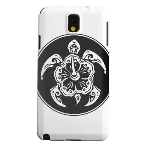 Geeks Designer Line (GDL) Samsung Galaxy Note 3 Matte Hard Back Cover - Island Turtle Solo