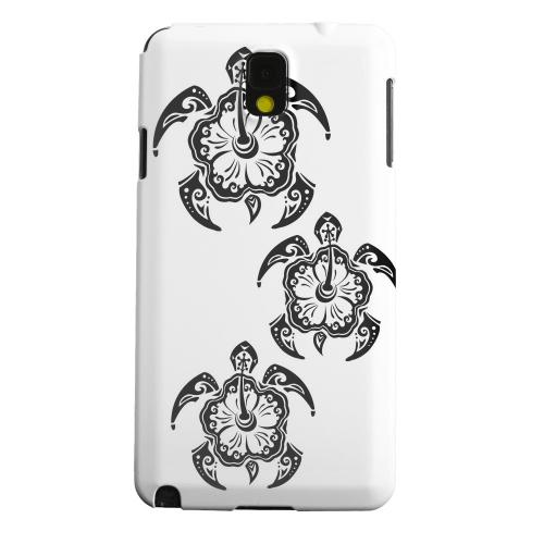 Geeks Designer Line (GDL) Samsung Galaxy Note 3 Matte Hard Back Cover - Island Turtle Trail