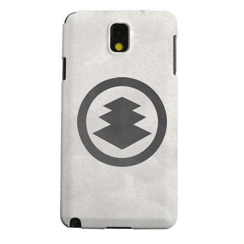 Geeks Designer Line (GDL) Samsung Galaxy Note 3 Matte Hard Back Cover - Hishi Kamon on Paper