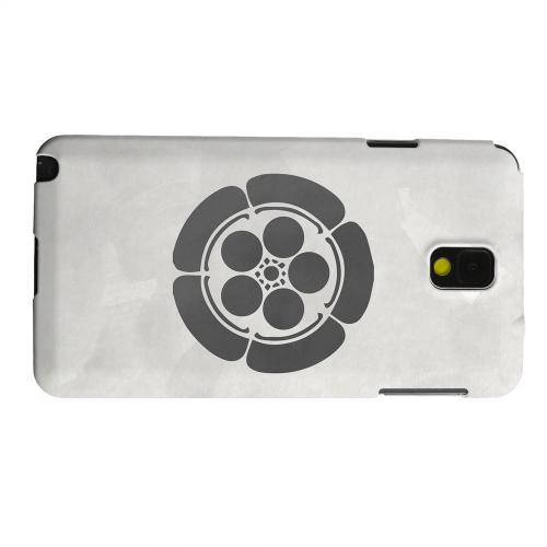 Geeks Designer Line (GDL) Samsung Galaxy Note 3 Matte Hard Back Cover - Umebachi Kamon on Paper v.4