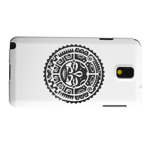 Geeks Designer Line (GDL) Samsung Galaxy Note 3 Matte Hard Back Cover - Polynesian Face
