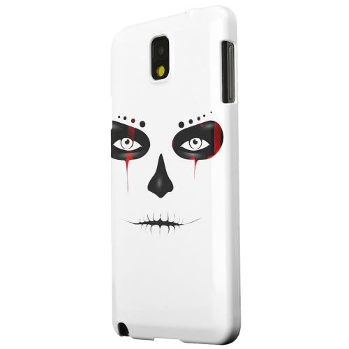 Geeks Designer Line (GDL) Samsung Galaxy Note 3 Matte Hard Back Cover - Skull Face Blood