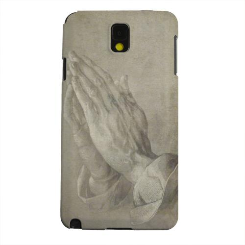 Geeks Designer Line (GDL) Samsung Galaxy Note 3 Matte Hard Back Cover - Albrecht Durer Praying Hands