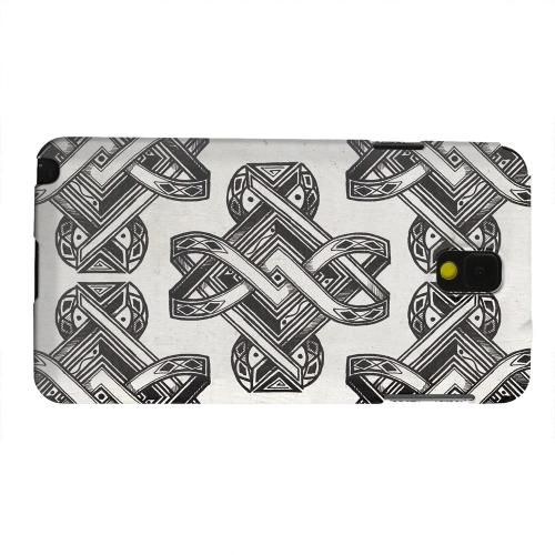 Geeks Designer Line (GDL) Samsung Galaxy Note 3 Matte Hard Back Cover - Tribal Art