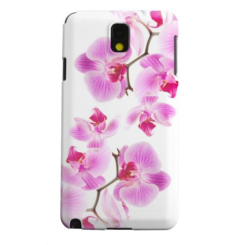 Geeks Designer Line (GDL) Samsung Galaxy Note 3 Matte Hard Back Cover - Orchids Orchids