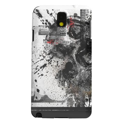 Geeks Designer Line (GDL) Samsung Galaxy Note 3 Matte Hard Back Cover - Collapse