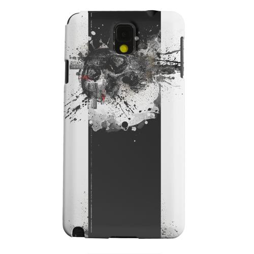 Geeks Designer Line (GDL) Samsung Galaxy Note 3 Matte Hard Back Cover - The Plague