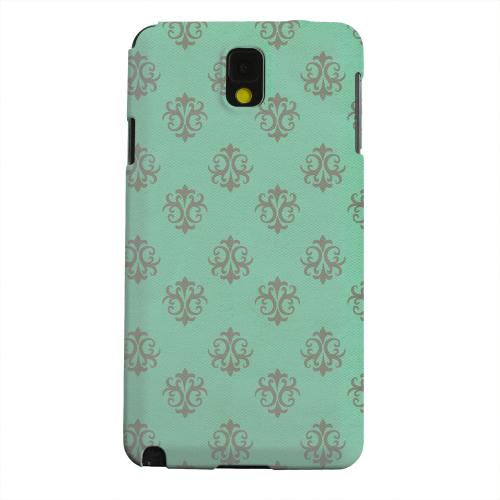 Geeks Designer Line (GDL) Samsung Galaxy Note 3 Matte Hard Back Cover - Ornamental Emerald