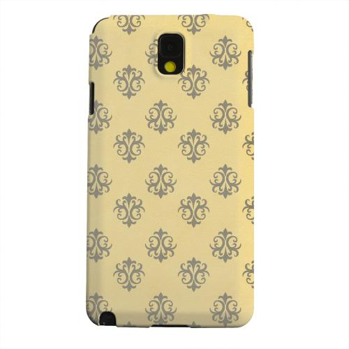 Geeks Designer Line (GDL) Samsung Galaxy Note 3 Matte Hard Back Cover - Ornamental Lemon Zest
