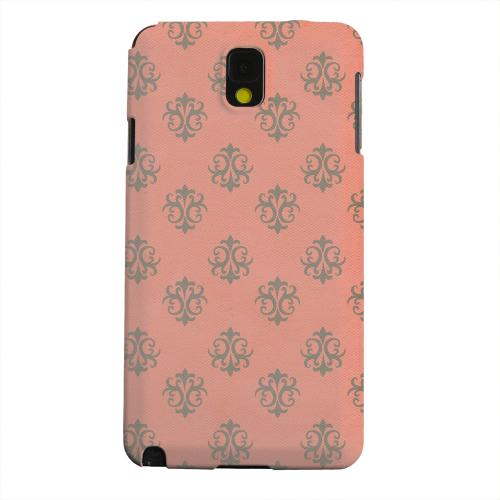 Geeks Designer Line (GDL) Samsung Galaxy Note 3 Matte Hard Back Cover - Ornamental Poppy Red