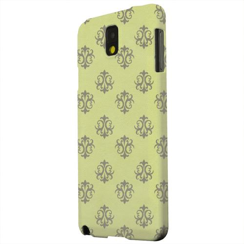 Geeks Designer Line (GDL) Samsung Galaxy Note 3 Matte Hard Back Cover - Ornamental Tender Shoots