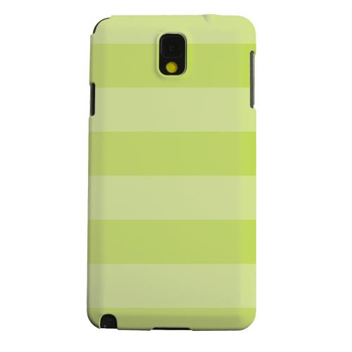 Geeks Designer Line (GDL) Samsung Galaxy Note 3 Matte Hard Back Cover - Stripes Tender Shoots