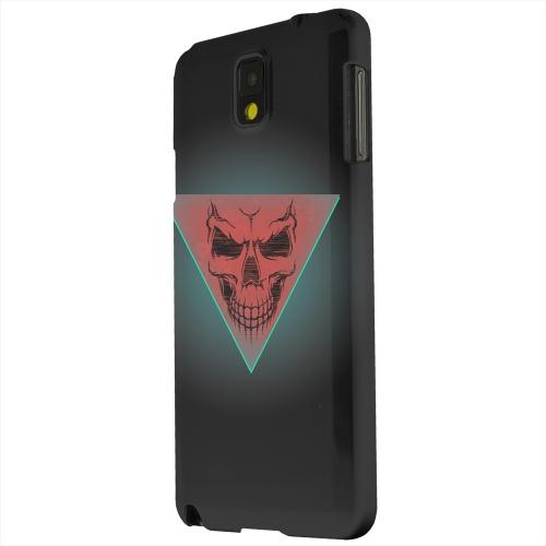 Geeks Designer Line (GDL) Samsung Galaxy Note 3 Matte Hard Back Cover - Dead Triangle