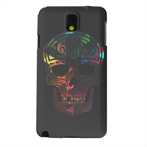 Geeks Designer Line (GDL) Samsung Galaxy Note 3 Matte Hard Back Cover - Rapero Muerto Geometric Color on Mesh