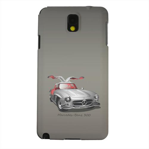 Geeks Designer Line (GDL) Samsung Galaxy Note 3 Matte Hard Back Cover - Classic Benz 300 Fade