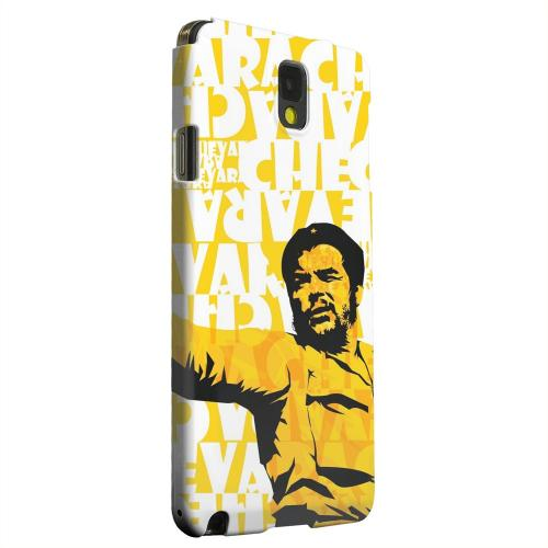 Geeks Designer Line (GDL) Samsung Galaxy Note 3 Matte Hard Back Cover - Che Guevara Discurso Pure Yellow