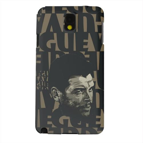 Geeks Designer Line (GDL) Samsung Galaxy Note 3 Matte Hard Back Cover - Che Guevara Serious Man on Brown