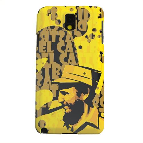 Geeks Designer Line (GDL) Samsung Galaxy Note 3 Matte Hard Back Cover - Yellow Fidelity