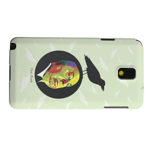 Geeks Designer Line (GDL) Samsung Galaxy Note 3 Matte Hard Back Cover - Hitchcock Birds