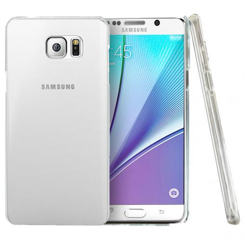 Samsung Galaxy Note 5, [Clear]  Slim & Protective Crystal Glossy Snap-on Hard Polycarbonate Plastic Case Cover