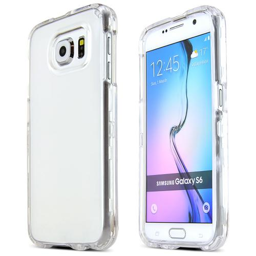 Samsung Galaxy S6 Case,  [Clear]  Slim & Protective Crystal Glossy Snap-on Hard Polycarbonate Plastic Case Cover