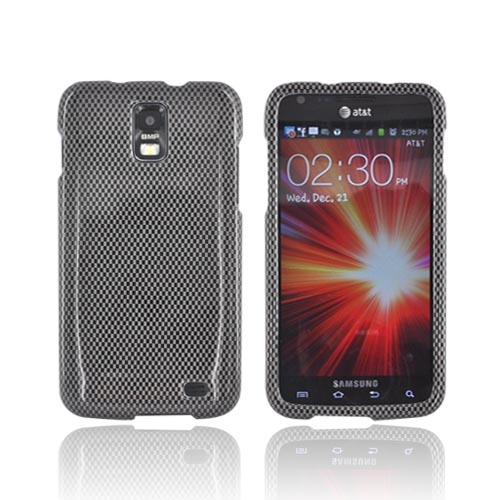 Samsung Galaxy S2 Skyrocket Hard Case - Carbon Fiber