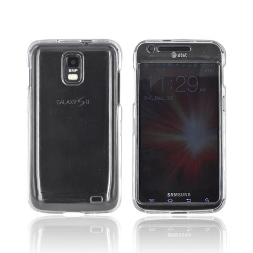 Samsung Galaxy S2 Skyrocket Hard Case - Clear