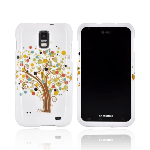 Samsung Galaxy S2 Skyrocket Hard Case - Tree Design on White