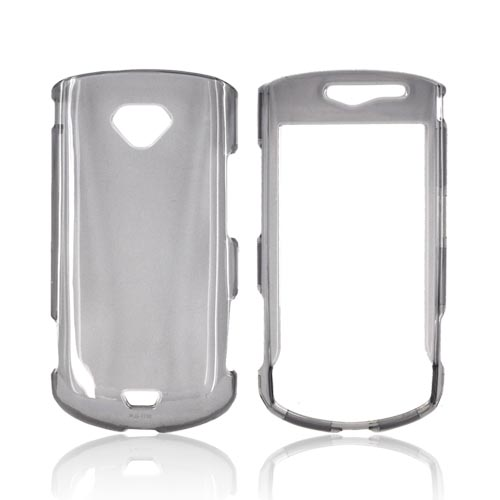 Samsung Gem i100 Hard Case - Transparent Smoke