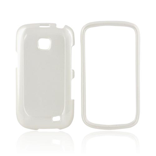 Samsung Illusion i110 Hard Case - Pearl White