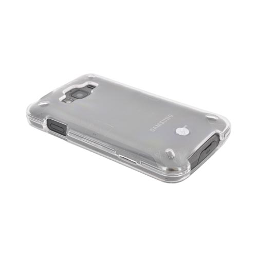 Samsung Rugby Smart i847 Hard Case - Transparent Clear