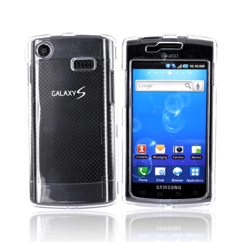 Luxmo Samsung Captivate i897 Hard Case - Transparent Clear