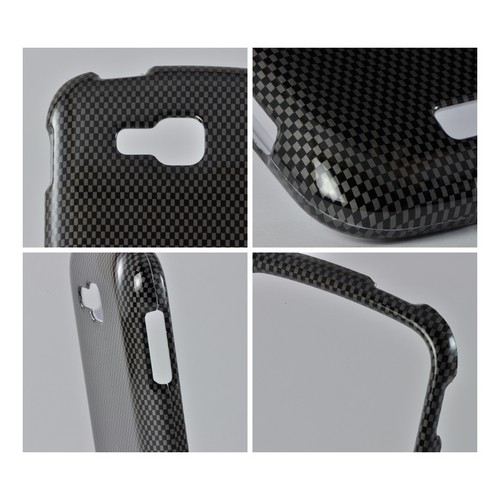 Black/ Gray Carbon Fiber Design Hard Case for Samsung ATIV Odyssey