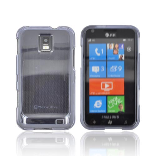 Samsung Focus S i937 Hard Case - Transparent Smoke