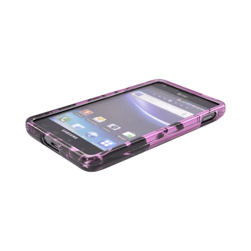 Samsung Infuse i997 Hard Case - Black Vines on Pink
