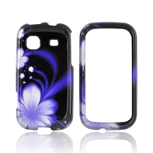 Samsung Trender M380 Hard Case - Purple Flowers