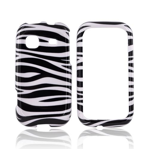 Samsung Trender M380 Hard Case - Black/White Zebra