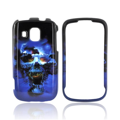 Samsung Transform Ultra M930 Hard Case - Blue Skull