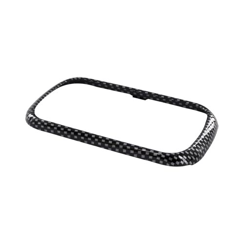 Samsung Seek M350 Hard Case - Carbon fiber