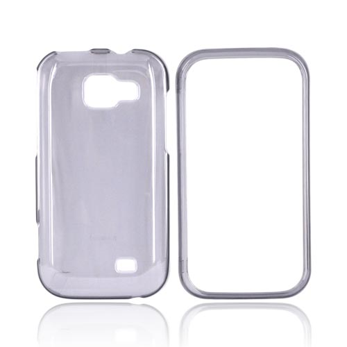 Samsung Transform M920 Hard Case - Transparent Smoke
