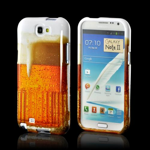 Golden Beer Hard Case for Samsung Galaxy Note 2