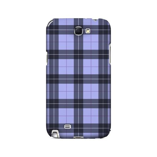 Scottish-Like Plaid in Purple - Geeks Designer Line Checker Series Hard Case for Samsung Galaxy Note 2