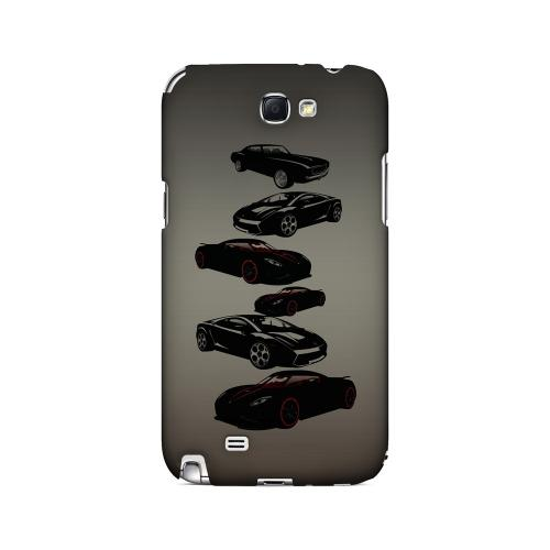 Sports Cars You Can't Afford - Geeks Designer Line Auto Series Hard Case for Samsung Galaxy Note 2