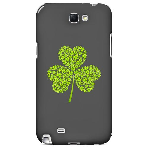 Clover Burst - Geeks Designer Line Holiday Series Hard Case for Samsung Galaxy Note 2