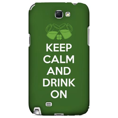 Drink On - Geeks Designer Line Holiday Series Hard Case for Samsung Galaxy Note 2