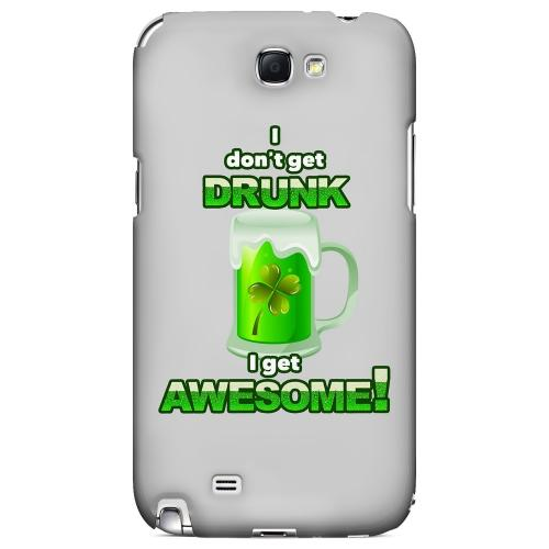 I Get Awesome - Geeks Designer Line Holiday Series Hard Case for Samsung Galaxy Note 2